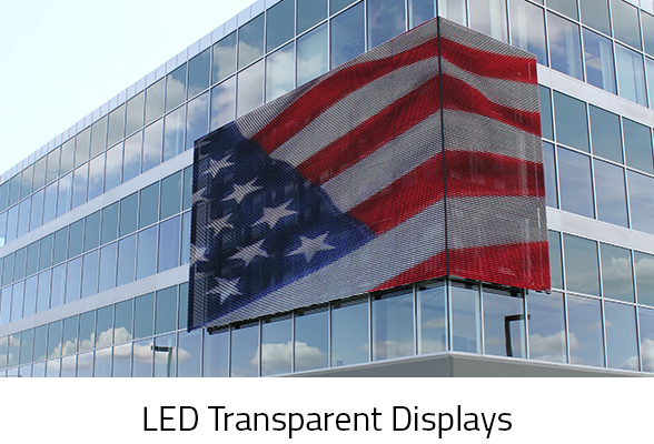 LED TRANSPARENT VIDEO