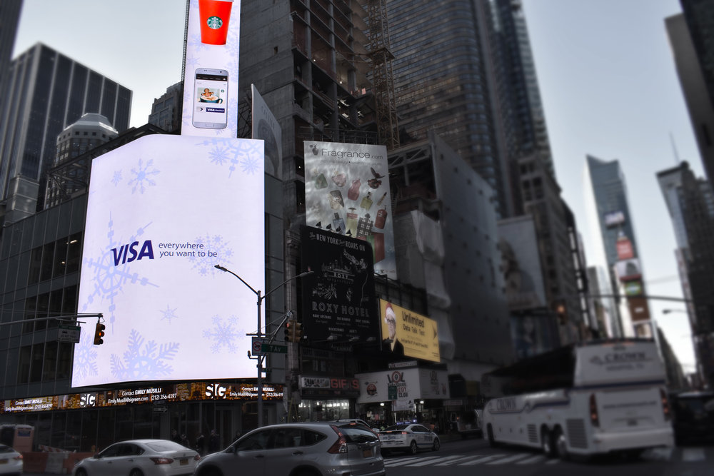 719 7th Avenue Times Square LED Video Display