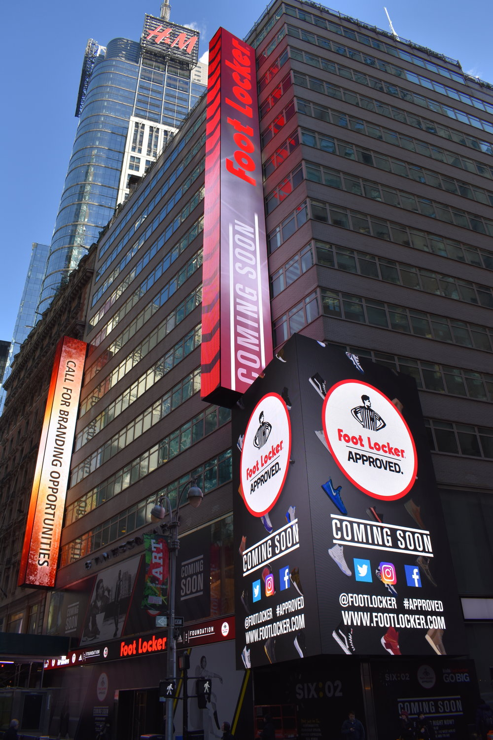 8 Times Square LED Video Display System