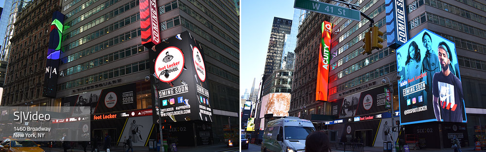 1460 Broadway LED Video Display
