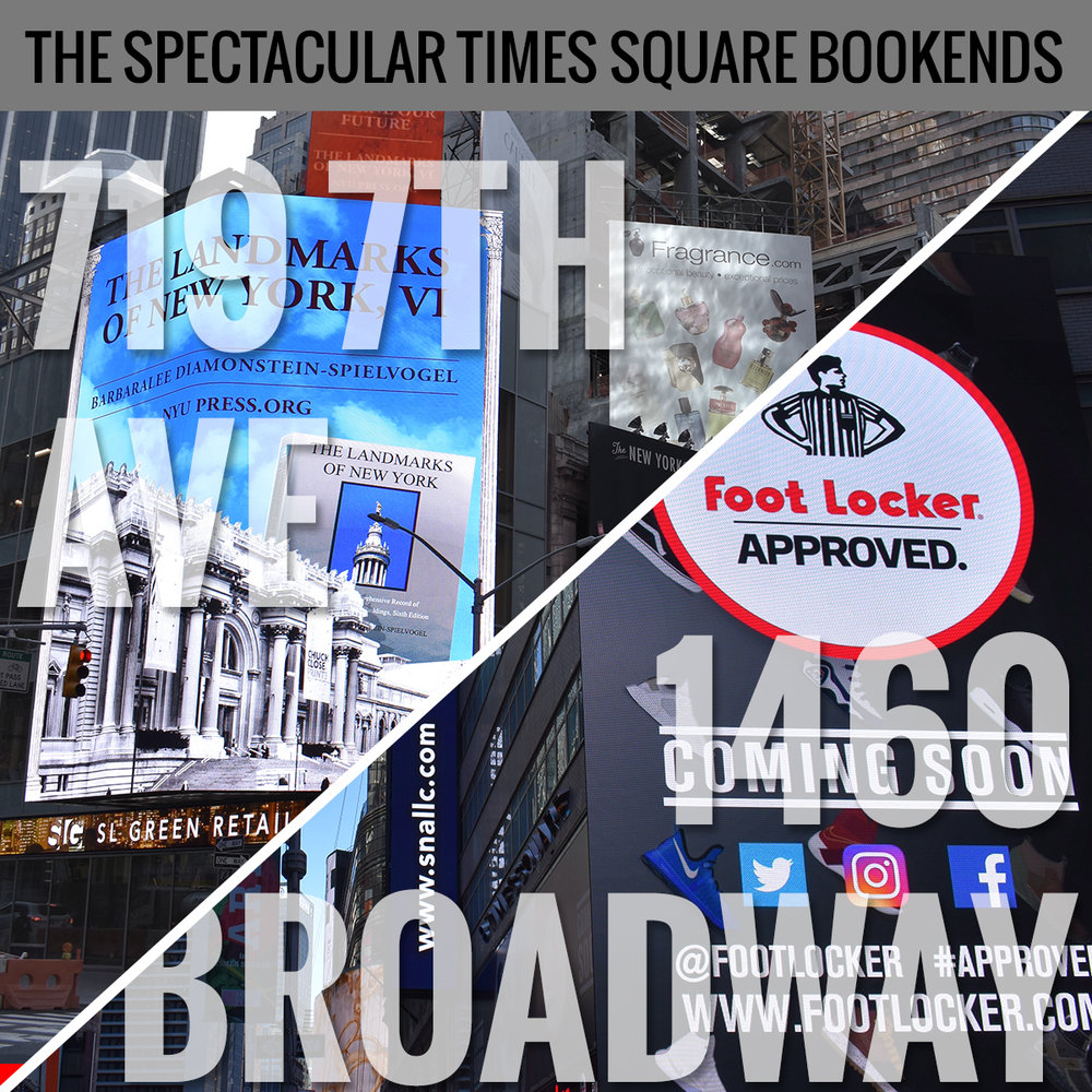 Times Square Bookends