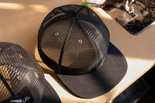 Full Mesh Trucker Hat (Artist Series) — Cotter Pin Motorcycle Gear ... f1a53b4389c