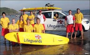 RNLI Workshops Part Of  Newquay School Trips