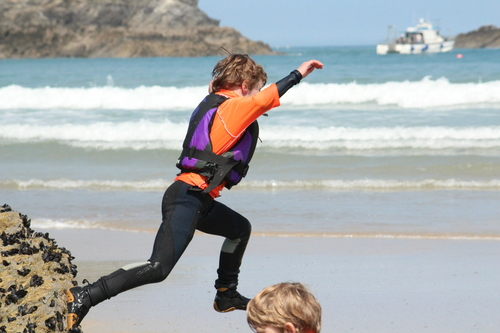 School Trip Activities In Newquay - Coasteering