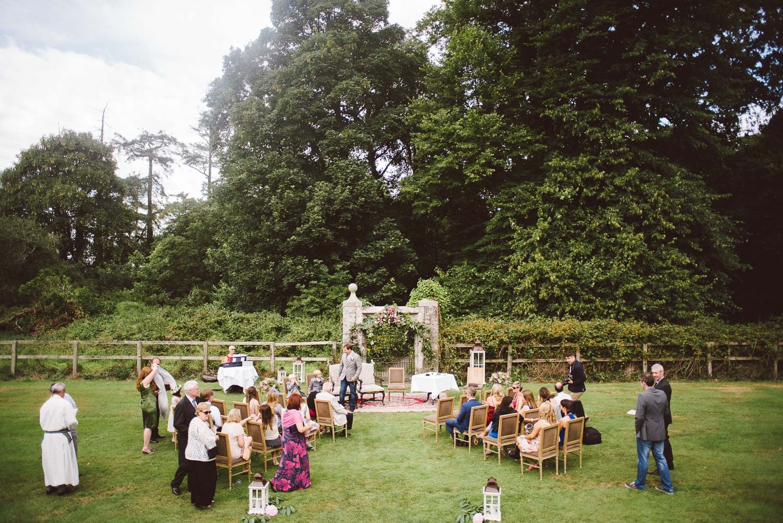 michelle matt a vow renewal in waterford castle u2014 kelly mcallister