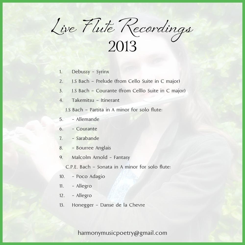 Live Flute Recordings 2013 Back.jpg