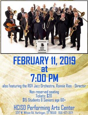 Count Basie Orchestra - Harlingen, TX — Trevor Ware - Acoustic