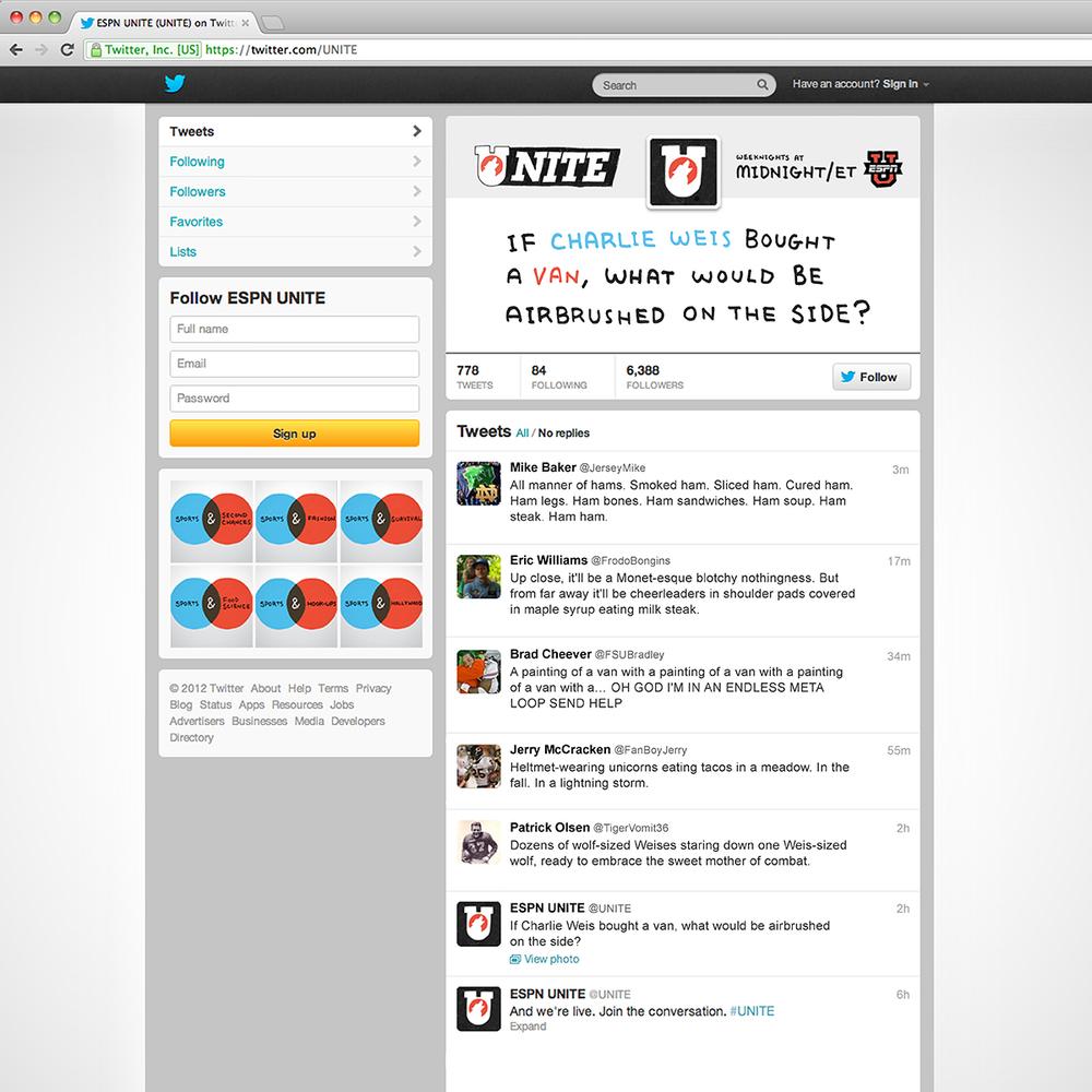 UNITE Twitter Board Questions // Social Media