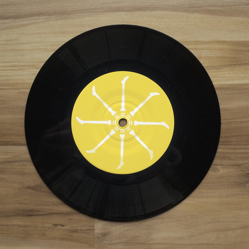 Reach Out EP //  Vinyl Label