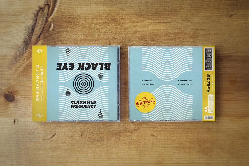 Black Eye EP //  CD Packaging