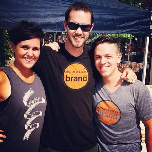 The Mission Team at Guthrie Green Sunday Market this past summer.
