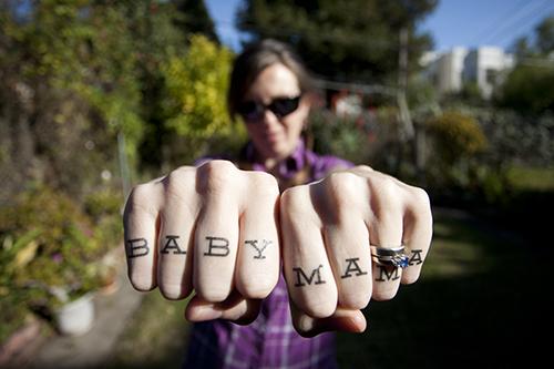 temp knuckle tats from Tattly
