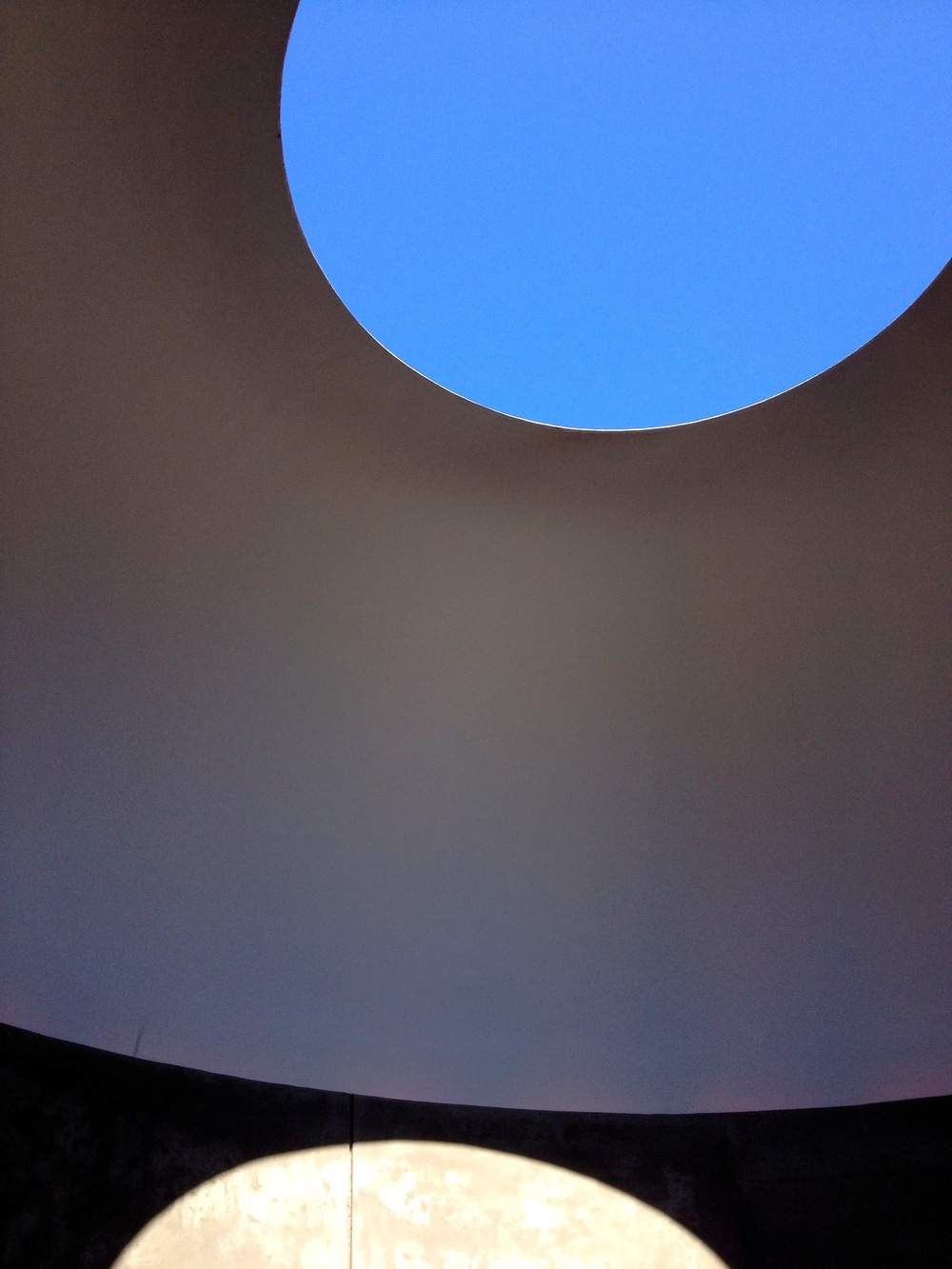 Inside 'Three Gems, 2005' by James Turrell @ the DeYoung Museum