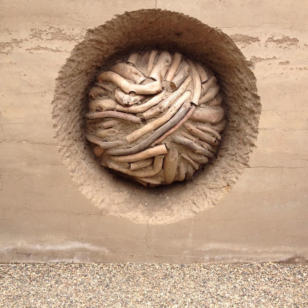 Earth Wall, Andy Goldsworthy