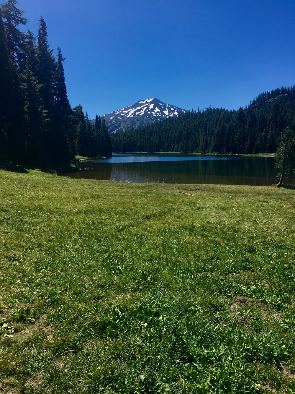 Todd Lake+Mt Bachelor