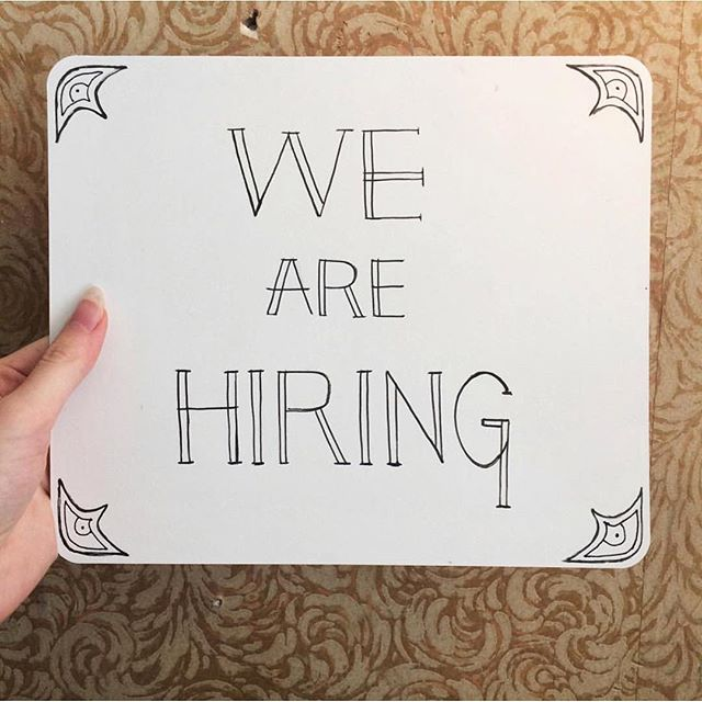 Hey guys, we're hiring! Please email northwoodgeneral@gmail.com with a little note about yourself. 👋