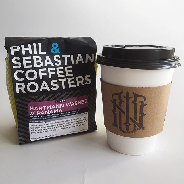Selling the @philandseb that we brew next door at our cafe ☕️ #northwoodgeneral #canadian #coffee