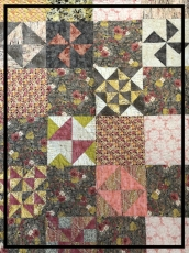 Quilt for a Queen Bed, Sewn by Judy Dew