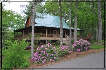 Week's Stay in Ashe Sanctuary Cabin, 4 Bedroom, 3 Bath Mountain Home in Jefferson, NC, June, July or August.  Starting Bid:  $500