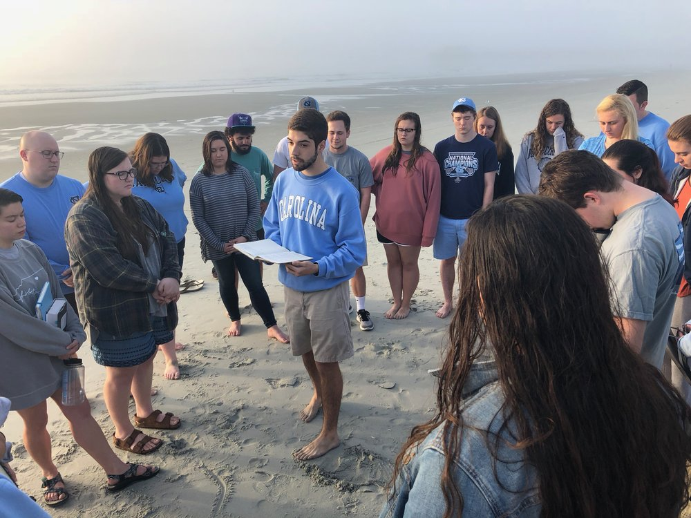Students on 2018 Spring Retreat