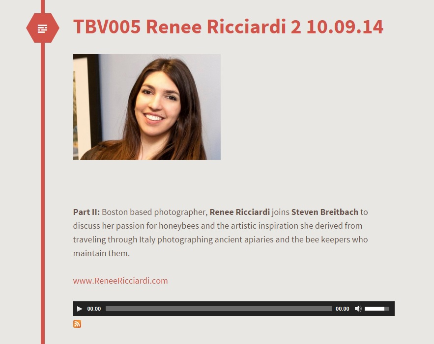 Renee Ricciardi Podcast California The Best Vibrance Hive Mind Pollen.jpg