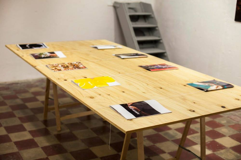 Installation view of Regali photo books at our Italian Exhibition