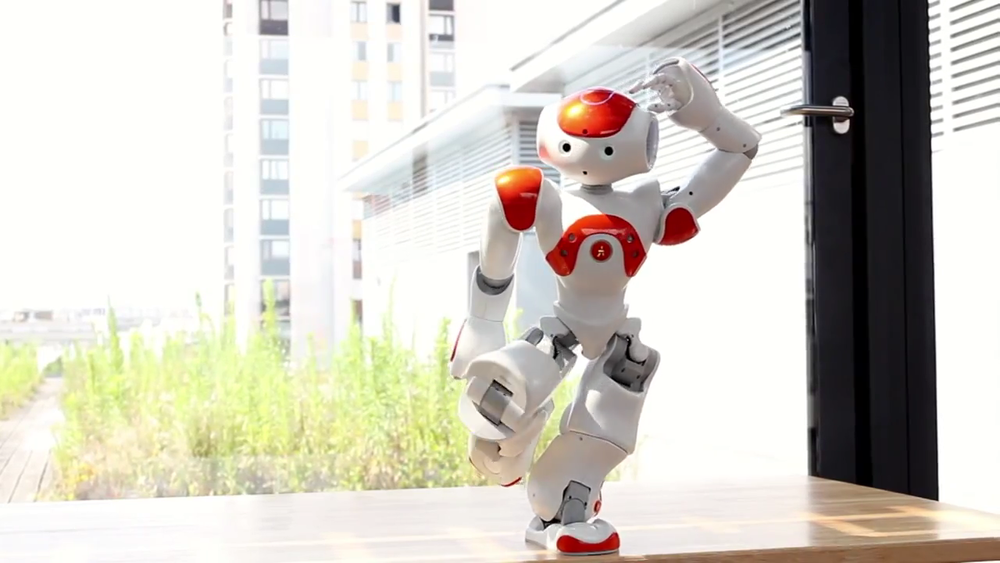 Evolution of Dance by Nao robot  by Alexandre Mazel