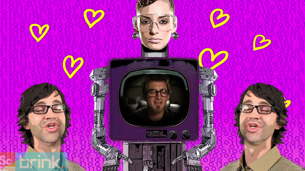 The Amazing Robot Girlfriend  by Rhett & Link