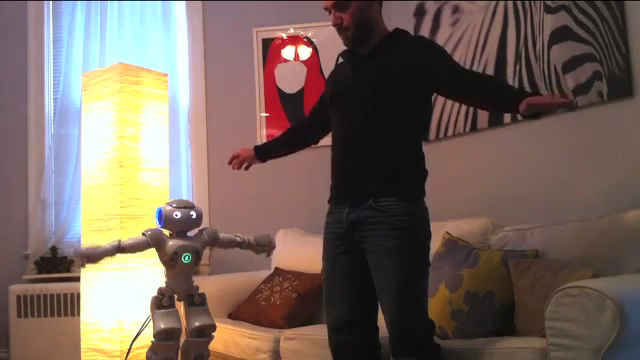 Acting Lesson with Robot  by Heather Knight, Matthew Gray, Alexander White