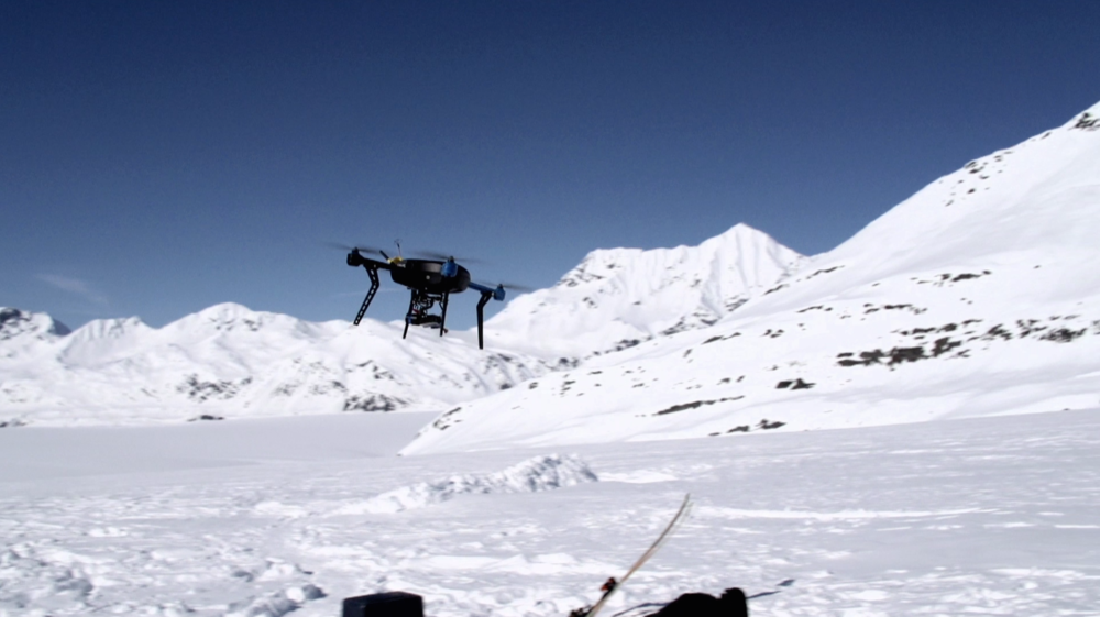 BEST TELEPRESENCE Robots In Alaska: The Making of Sugar Mountain by Daniel Coolahan, Oscar McLennan, Brandon Basso, Adam Schlender, 3D Robotics, Richard James, Rob Norman