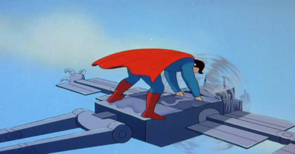 Superman: The Mechanical Monsters  by Fleischer Studios