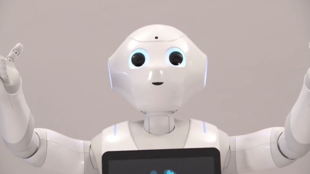 Pepper by Aldebaran Robotics