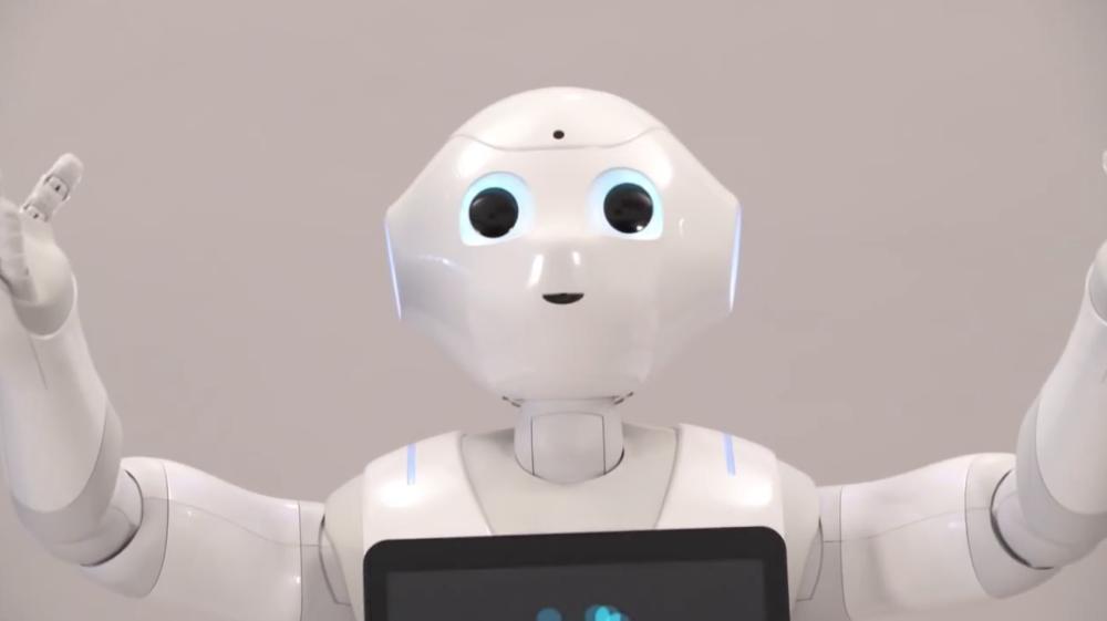 Pepper by Aldebaran Robotics
