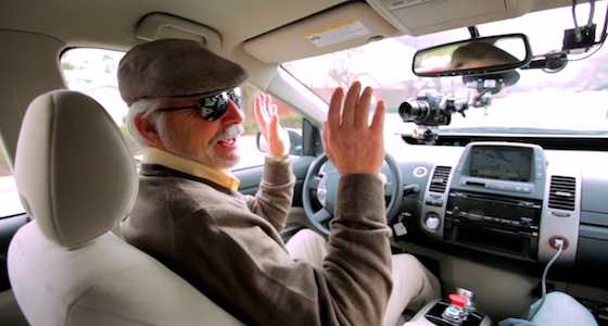 BEST HUMAN-ROBOT INTERACTION Self-Driving Car Test: Steve Mahan by Matt Rutherford, Roc Noir, Google