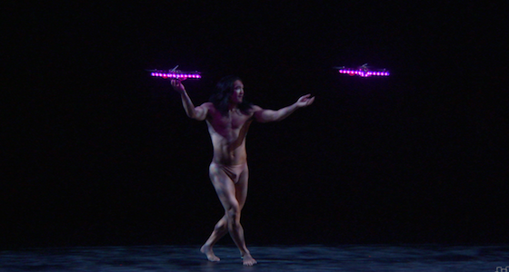 BEST ROBOT ACTOR Seraph by Pilobolus, MIT Distributed Robotics Lab