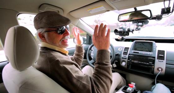 Self-Driving Car Test: Steve Mahan byMatt Rutherford, Roc Noir, Google