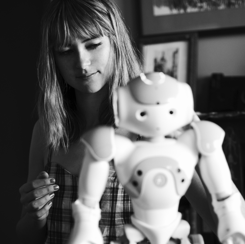 Executive Director Heather Knight of Marilyn Monrobot