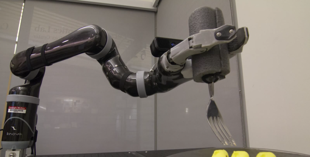 Automated Dining via an Intelligent Robot Arm by Siddhartha Srinivasa's Personal Robotics Lab