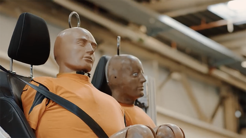 Cheeky Robot Test Helps Ensure Seats Are Built to Last by Ford Europe