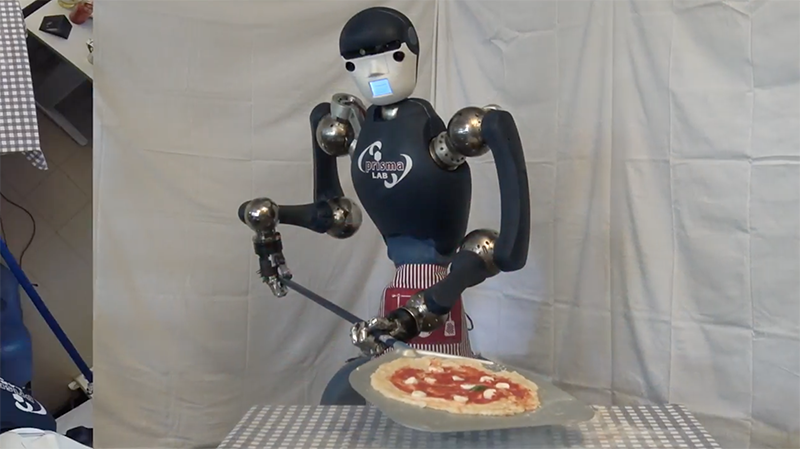 Making a Pizza: A Robotic Approach by Jonathan Cacace, Mario Selvaggio