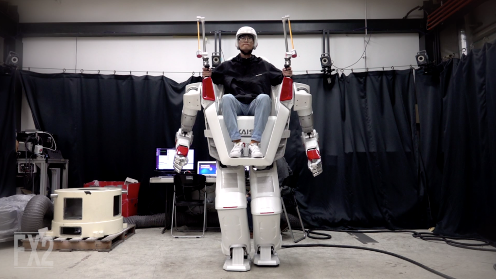 FX-2 The Giant Human Riding Robot by KAIST HuboLab & Rainbow Robotics