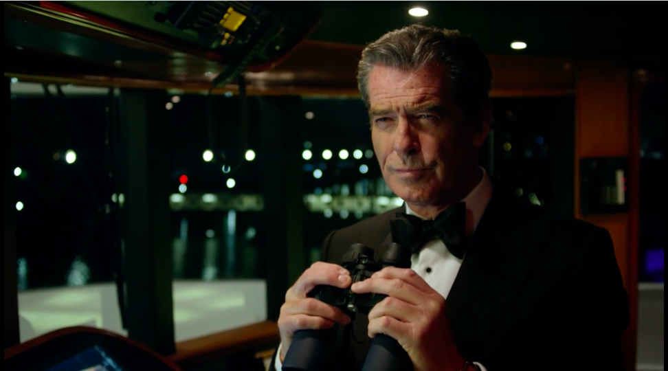 "Spar Premium / ""The Yacht""  starring Pierce Brosnan"