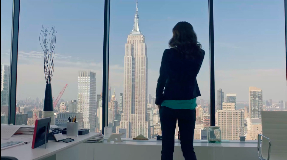"Spar Enjoy / ""NYC office""  starring Audrey Blondin"