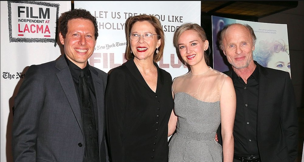 LA premiere at LACMA, with Annette Bening, Ed Harris, Jess Weixler