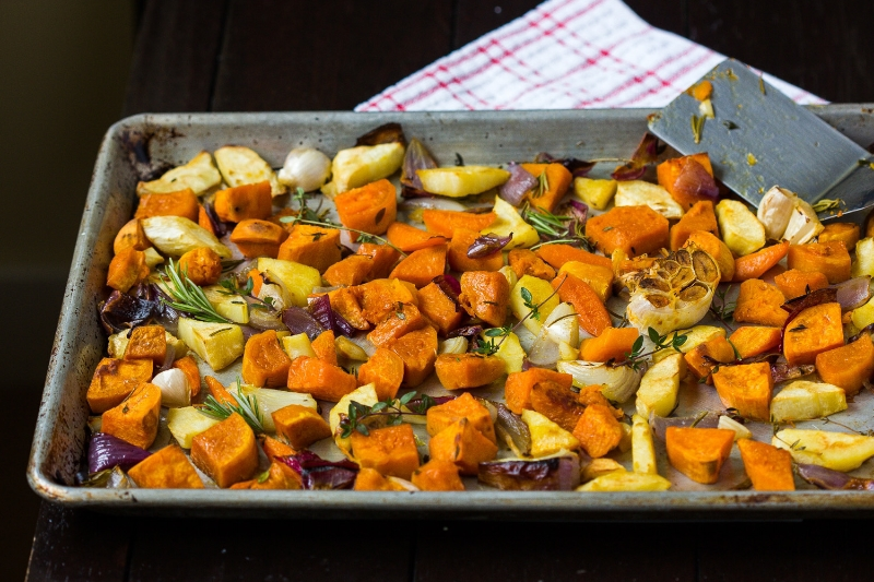 Roasted Winter Vegetables — playin with my food