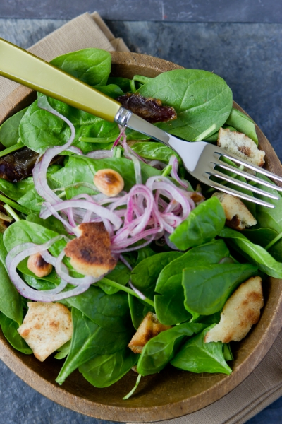 A MOST DELICIOUS SPINACH SALAD