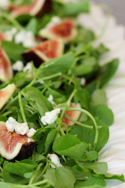 FIG AND WATERCRESS SALAD