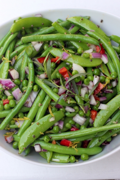 GREEN BEAN SALAD FROM PLENTY