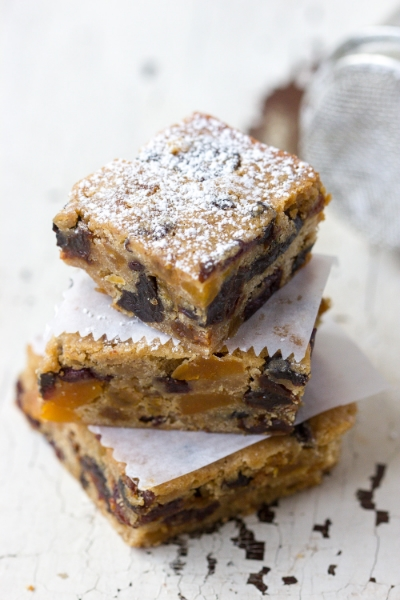 HOLIDAY FRUITCAKE BARS