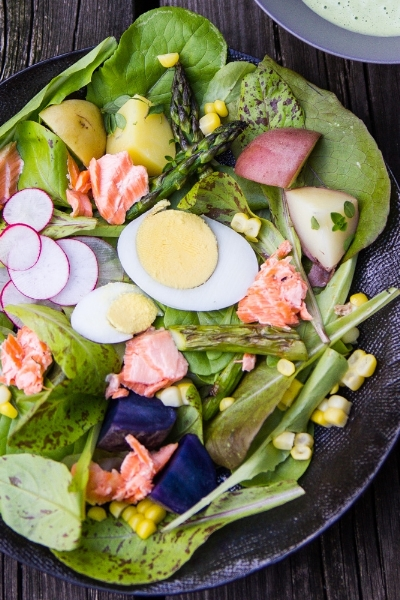COPPER RIVER SALMON SALAD